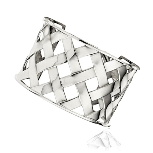 Verdura-Jewelry-Criss-Cross-Cuff-White-Gold