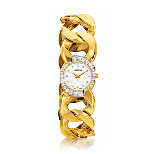 Verdura-Jewelry-Curb-Link-Bracelet-Watch-Gold-Diamond-Pearl