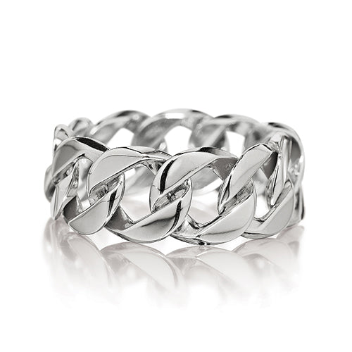 Verdura-Jewelry-Curb-Link-_Ring-White-Gold