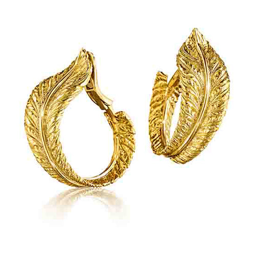 Verdura-Jewelry-Feather-Hoop-Earclips-Gold-2018