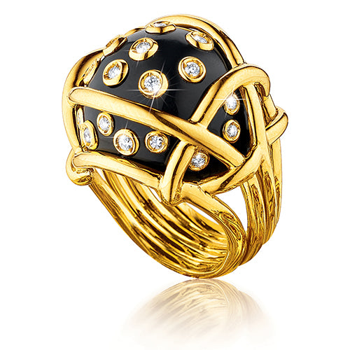 Verdura-Jewelry-Polka-Dot-Ring-Black-Jade-Diamond-Gold