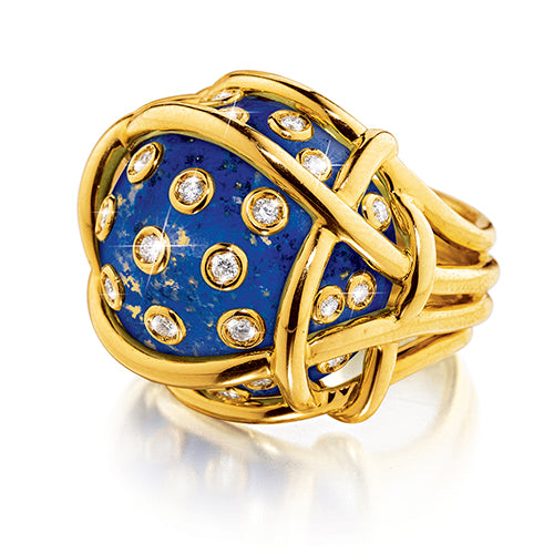 Verdura-Jewelry-Polka-Dot-_Ring-Lapis-Diamond-Gold
