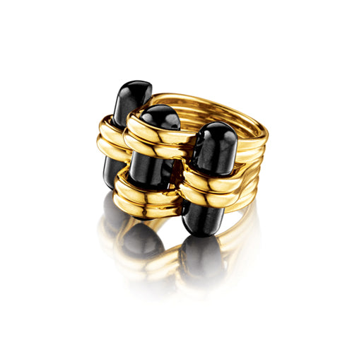 Verdura-Jewelry-Trio-Ring-Gold-Black-Jade