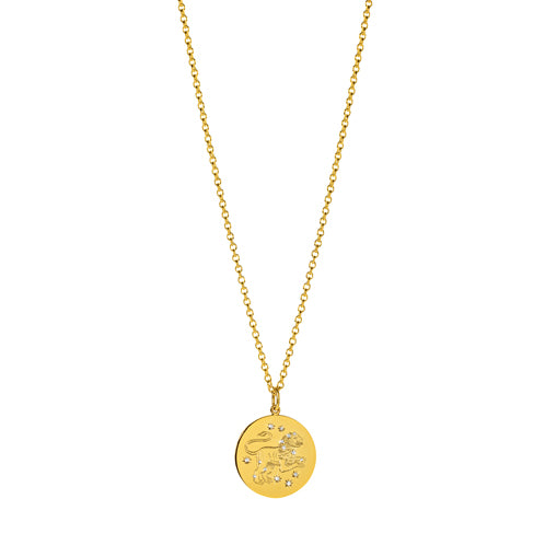 Verdura-Jewelry-Zodiac-Pendant-Necklace-Leo-Gold-Diamond