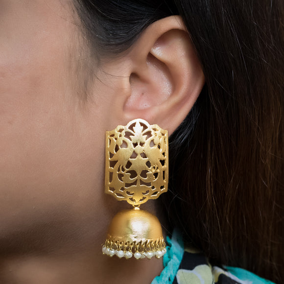 Gold Plated Earrings - The Pink Lane