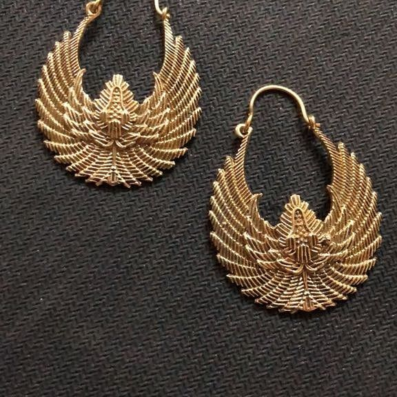 Gold Plated Trendy Earrings - The Pink Lane