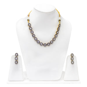 Designer one of a kind Necklace Set - The Pink Lane