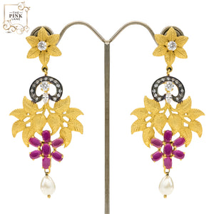 Designer Multicolored Danglers for Women
