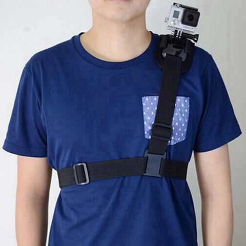 Action Camera Shoulder Strap Mount for Gopro Cameras and similar