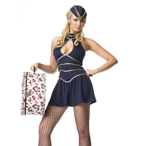 Gold Lined Sailor Costume with Hat