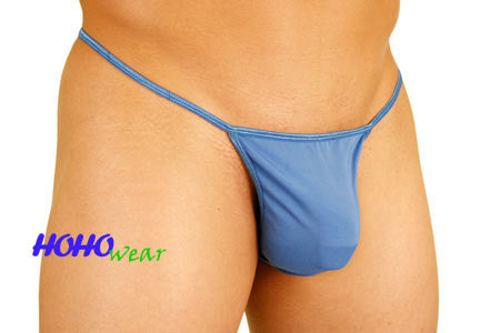 Sheer Pouched G-string