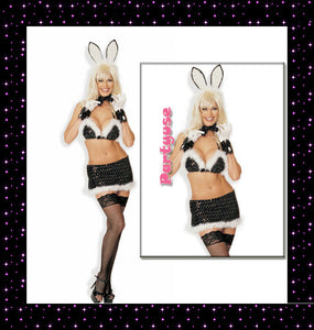 Bunny Girl Outfit Cosplay Costume Set #8173