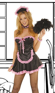 Sexy French Maid Costume (5pc)