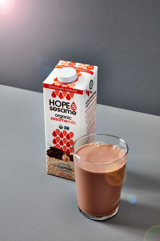 Hope & Sesame Chocolate Hazelnut Sesamemilk