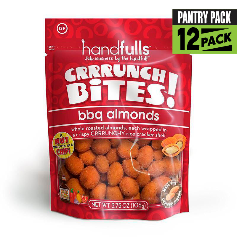 Crrrunch Bites BBQ Almonds