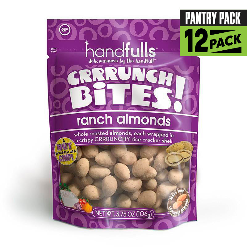 CrrrunchBites  Ranch Almonds