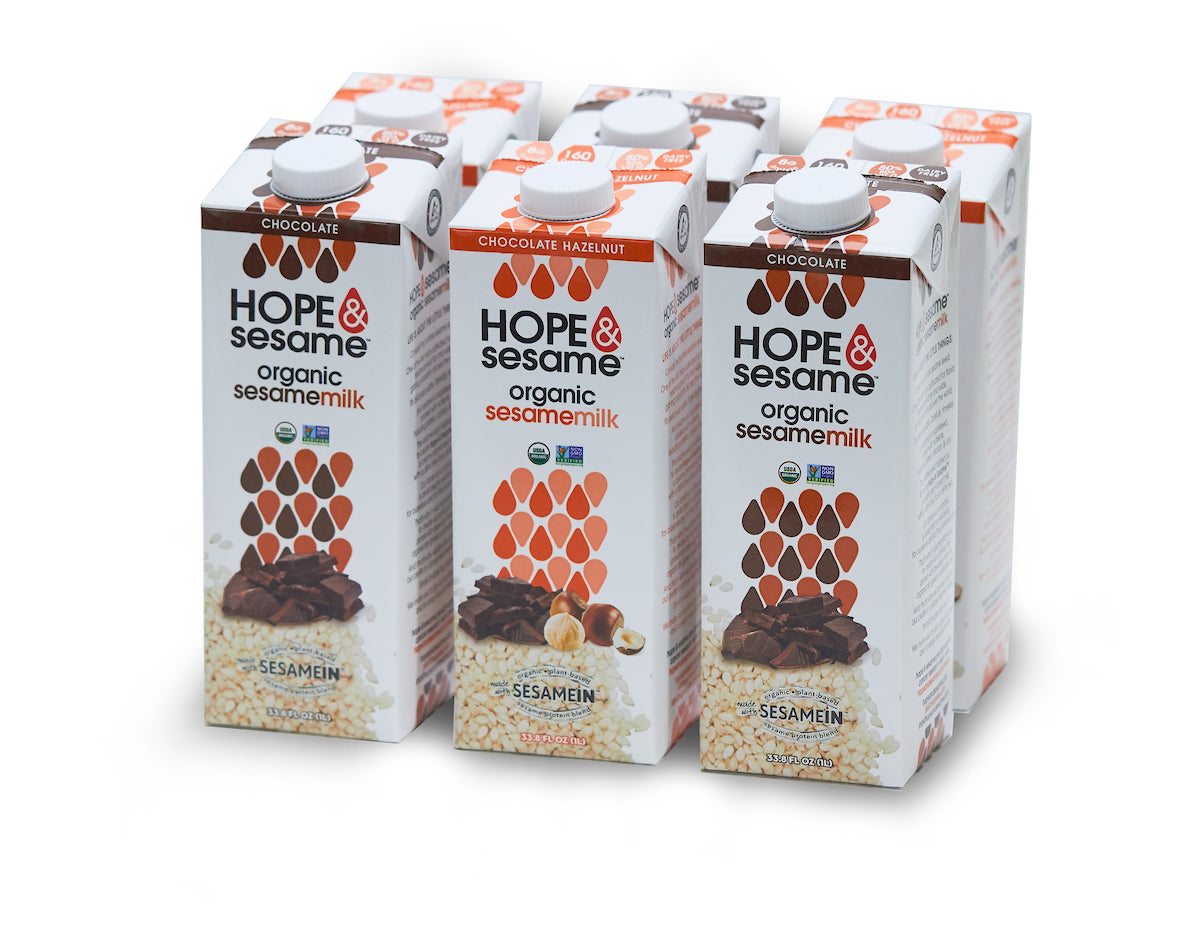 Hope & Sesame Chocolate Lovers Non-Dairy Sesamemilk