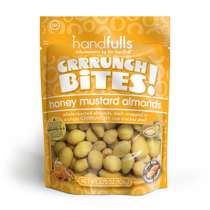 CrrrunchBites  Honey Mustard Almonds