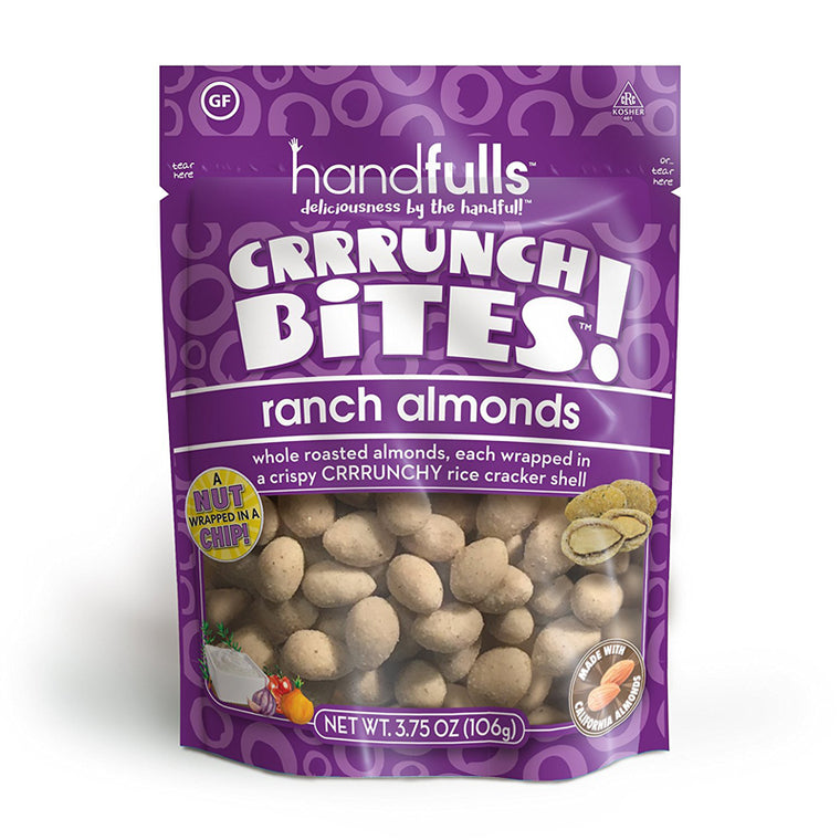 CrunchBites: Ranch Almonds 3.75oz