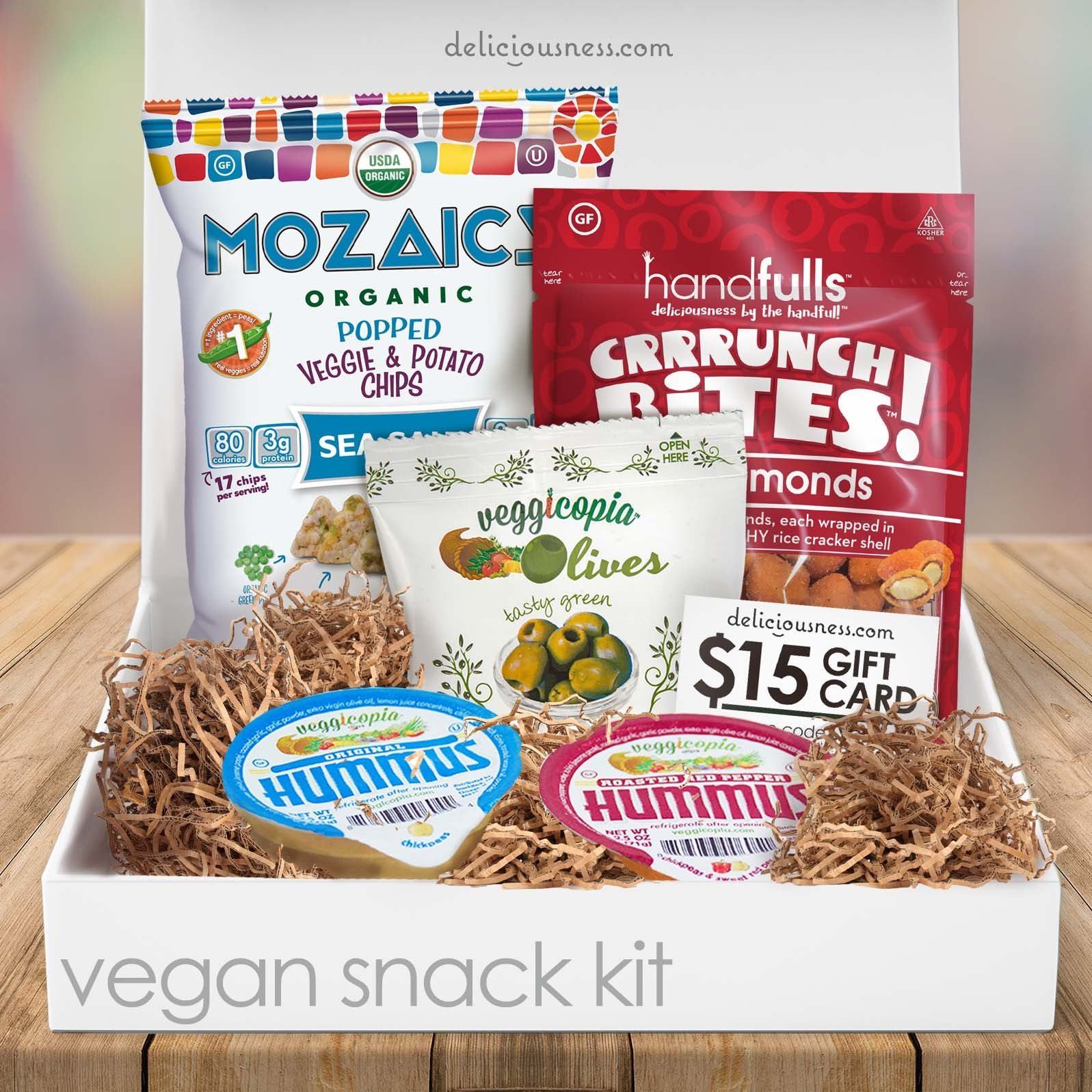 Vegan Snack Kit