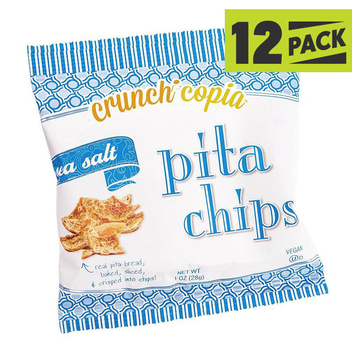Crunchicopia Vegan Pita Chips - 12 Pack