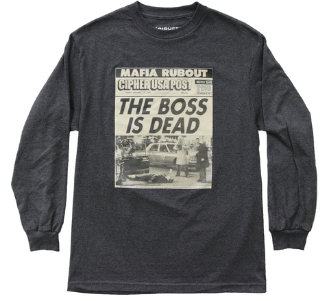 RUBOUT LONG SLEEVE T-SHIRT