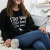'Stay Now' Christmas Jumper - Lovetree Design