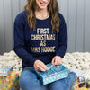 First Christmas As Mrs… Personalised Christmas Jumper
