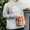 Wrap Battle Christmas Sweatshirt