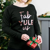 Fab Yule Us. Rose Gold Christmas Jumper - Lovetree Design