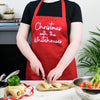 Christmas With The… Personalised Apron