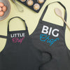 Big Chef Little Chef Matching Family Aprons - Lovetree Design