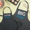 Big Chef Little Chef Matching Family Aprons