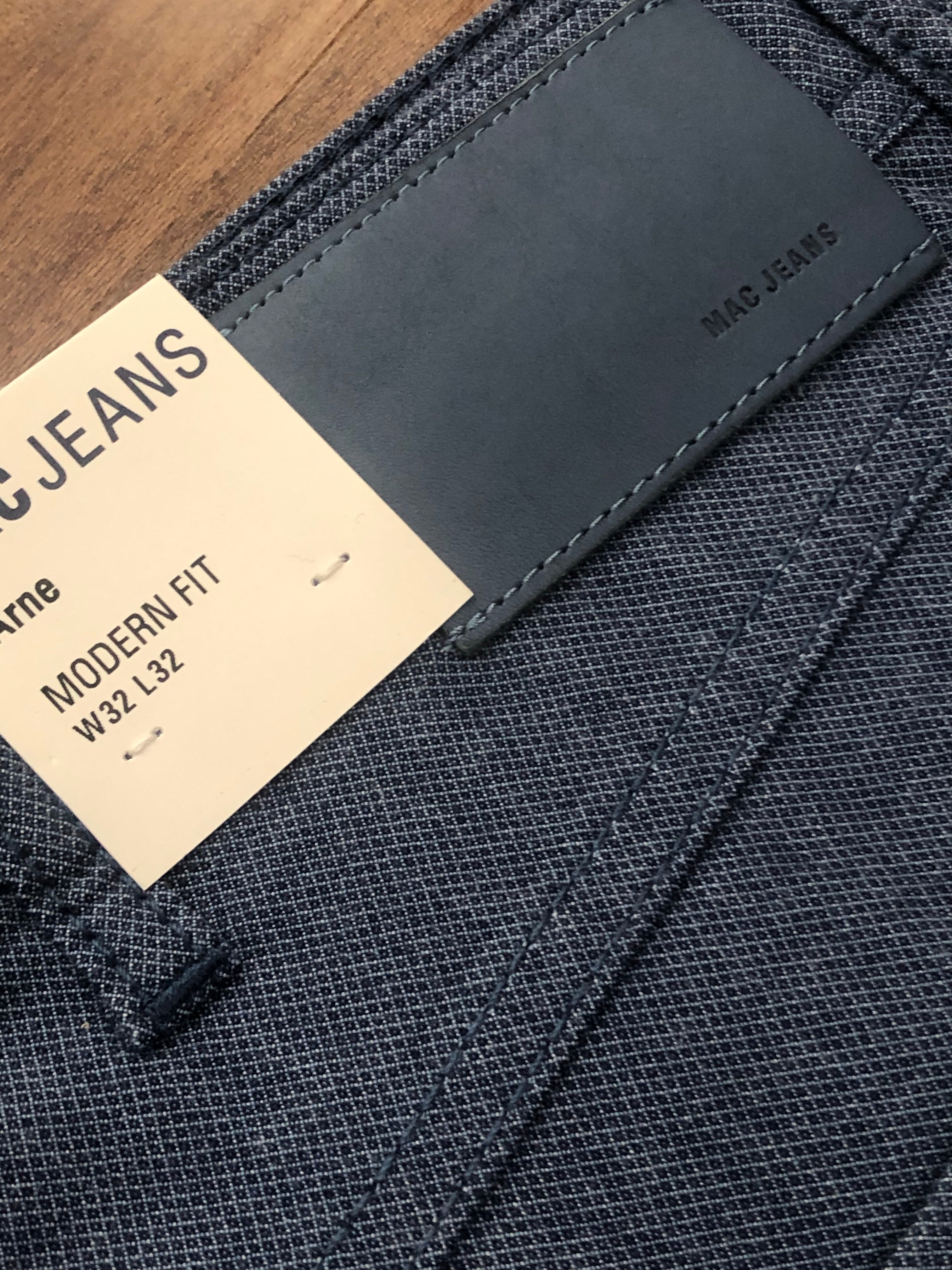 MAC Jeans Arne Stretch Solid SS Pant