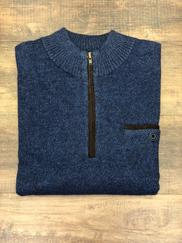 Johnnie-O Vernon 1/4 Zip Pullover Pocket Sweater