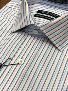 Forsyth of Canada Textured Stripe Dress Shirt