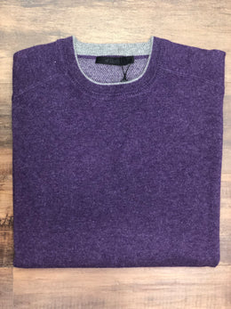 Raffi Cashmere Crew Neck Sweater