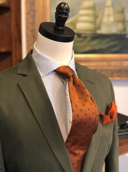 Q by Flynt Green Solid Sport Coat