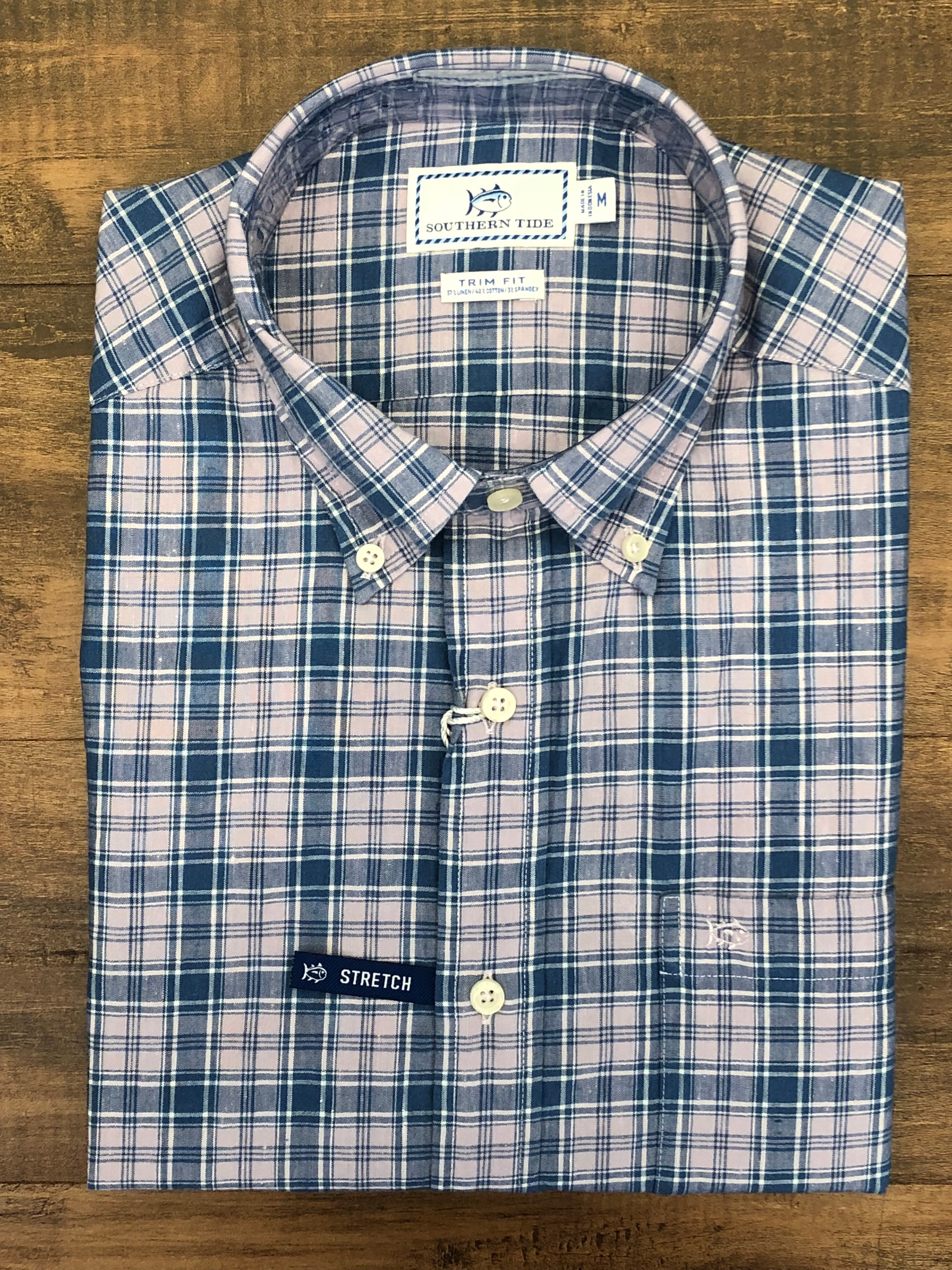 Southern Tide Ocean Point Plaid Shirt