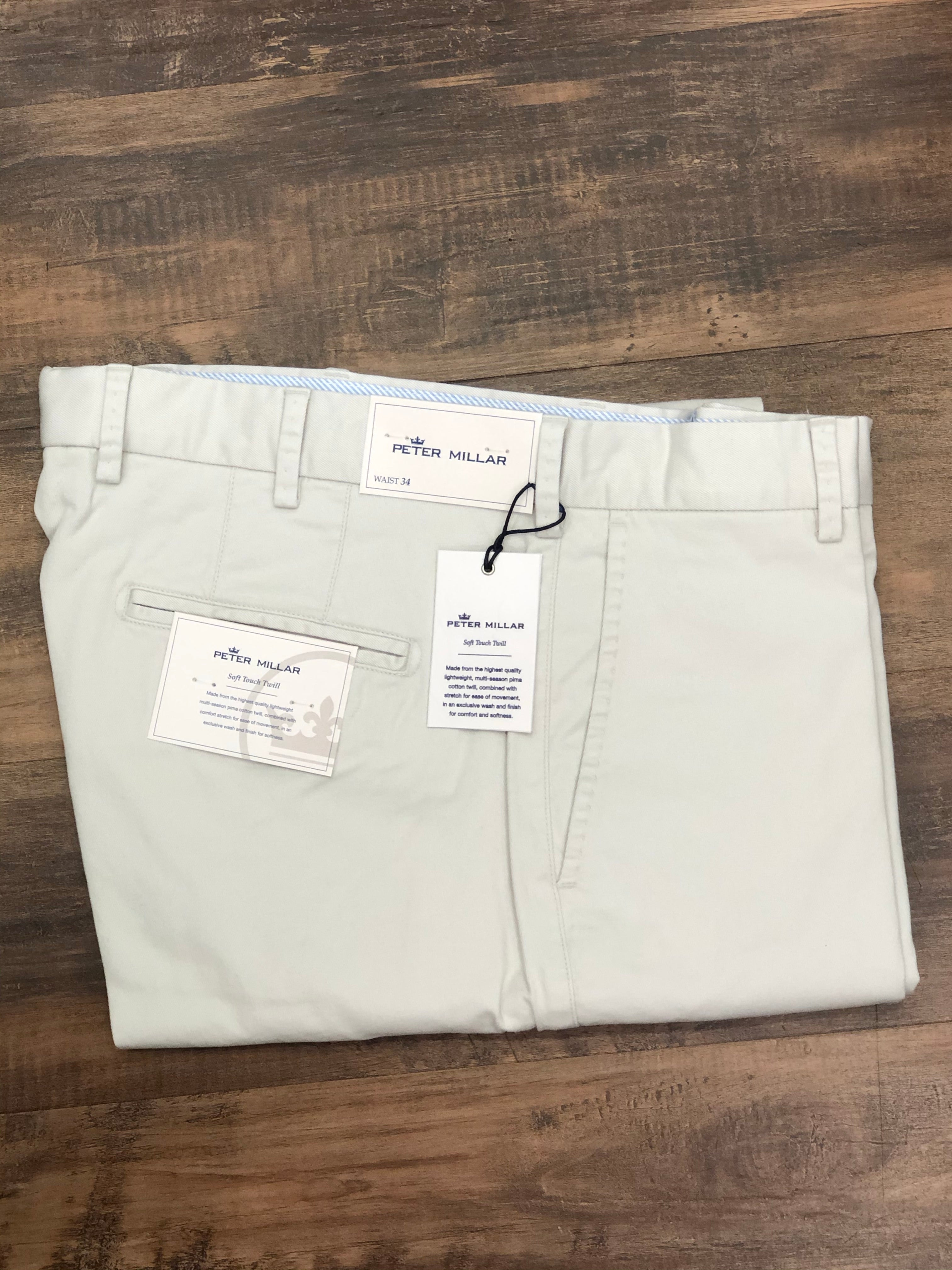 Peter Millar Soft Touch Twill Casual Pant