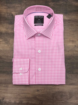 Proper Shirtings Gingham Dress Shirt