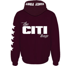 CITI TEAM MEN'S ZIP HOODIES