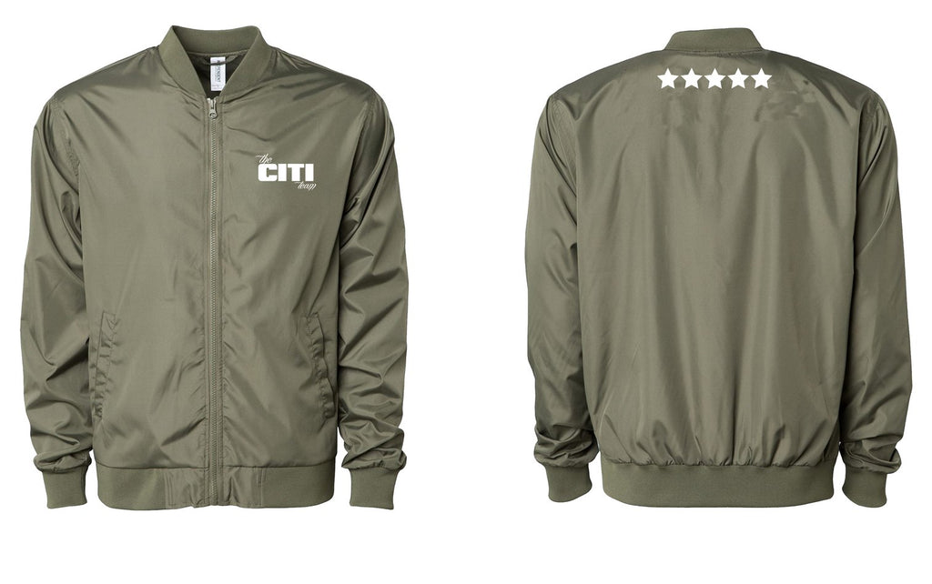 CITI TEAM EMBROIDERED BOMBER JACKET