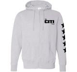 CITI TEAM LOGO LADIES ZIP HOODIES