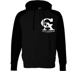 CITI OF ANGELS LADIES ZIP UP HOODIES