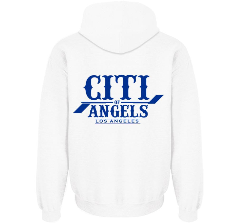 CITI OF ANGELS MEN'S ZIP UP HOODIES