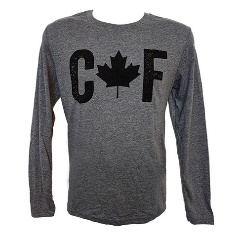 CAF Long Sleeve Shirt - Heather Grey