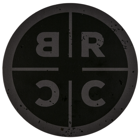 BRCC Circle Sticker - Black Rifle Coffee Company