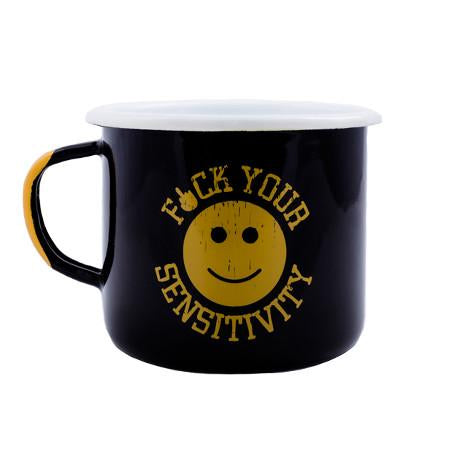 F*ck Your Sensitivity Enamel Mug