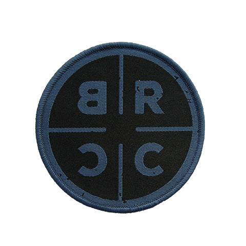 BRCC Logo Patch - Blue on Black